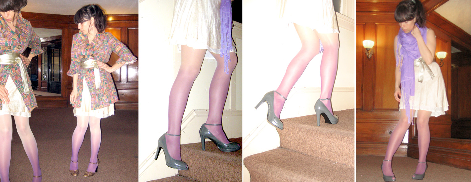 gradient tights