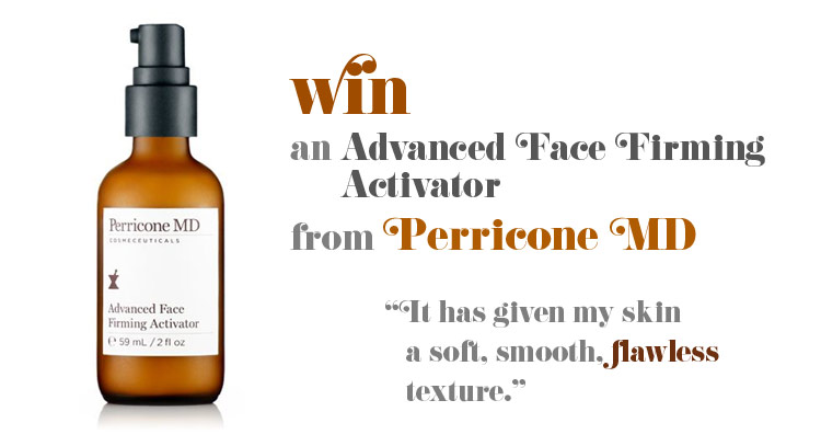 Post image for Perricone MD skin care giveaway – get help for enlarged pores and much more
