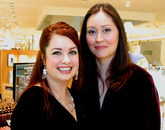 Bobbi Brown Education Executive Katrina Rau and Sonja