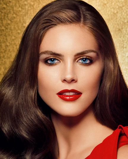 Estee Lauder Ultimate Red Holiday Model