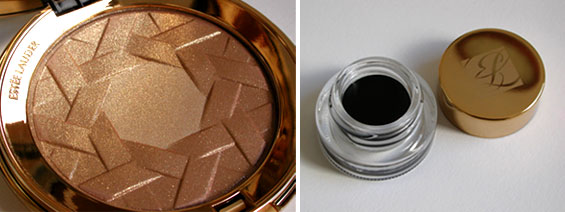 Estee Lauder Holiday Shimmer Powder and Gel Eyeliner