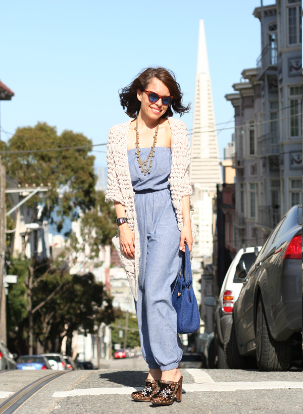 Post image for Chambray Jumpsuit & Clogs: Why Say Never?