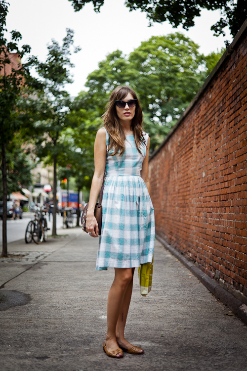 60's sleeveles day dress