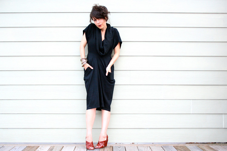 Post image for Double Double T-Shirt Dress